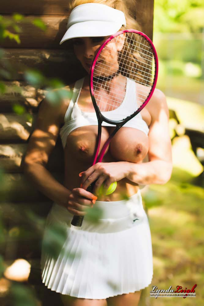 Milf Playing Tennis